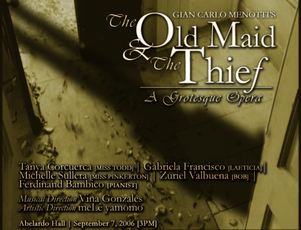 The Old Maid and the Thief(2006)