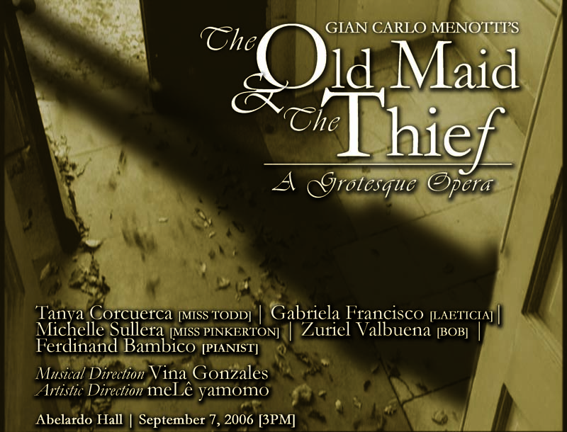 The Old Maid and the Thief (2006)