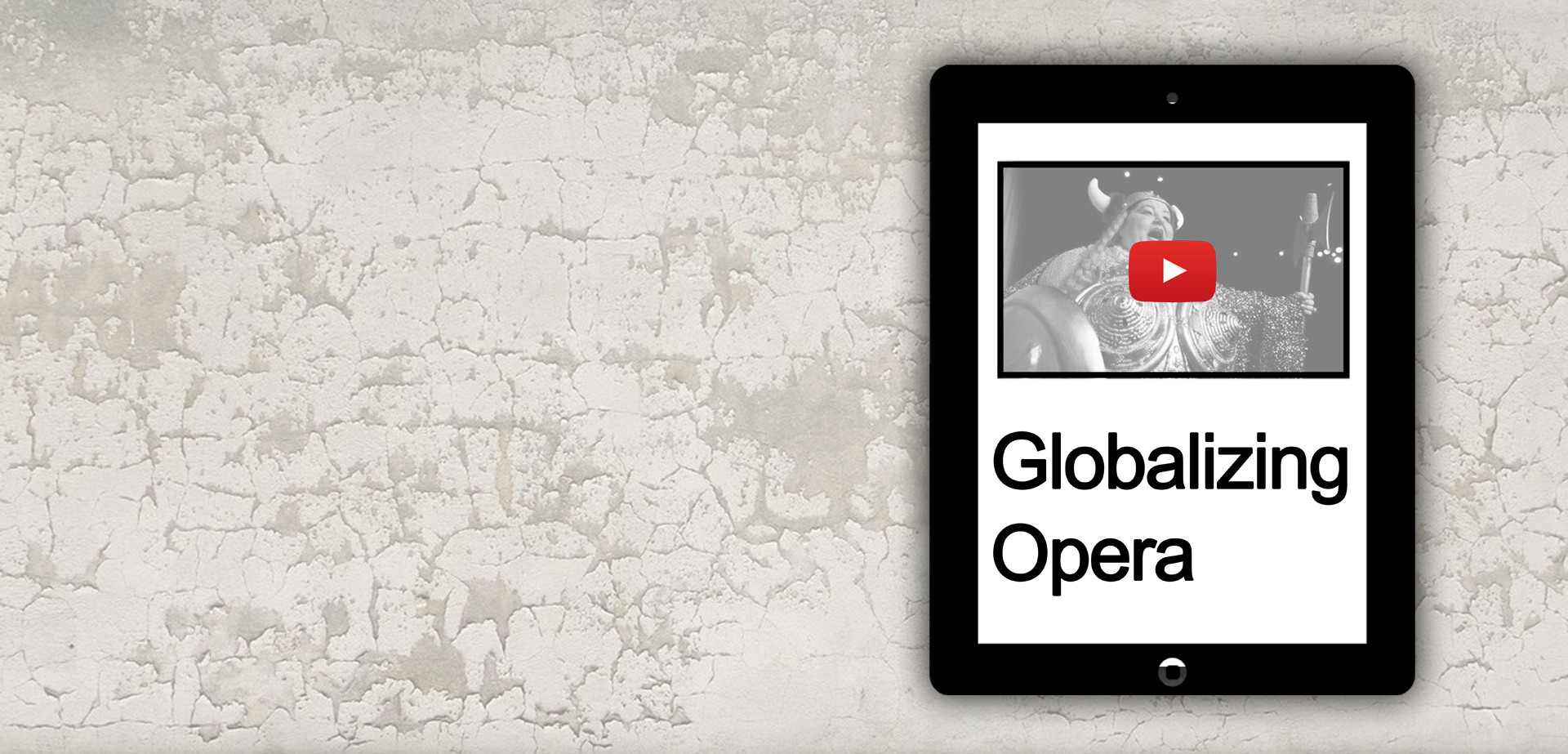 Globalizing Opera (Workshop)