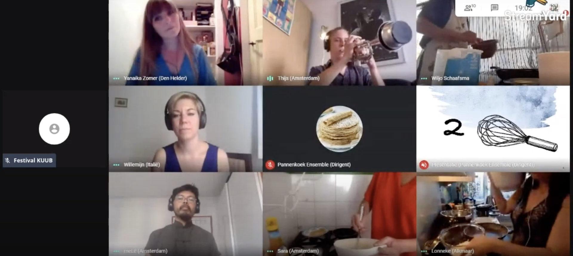 Pannenkoek Rondeau Livestream
