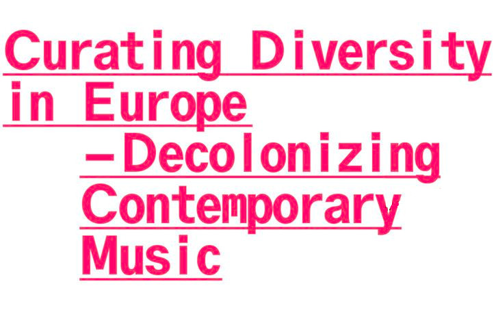 "1st Sounds Now Symposium: ""Curating Diversity in Europe"""